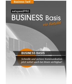 satspeedPRO Business Basis Internet via Satellit Tarif