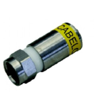 F-Stecker RG6 (compression)