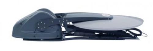 satspeedPRO iNetVu 98cm auto deploy antenna KU/ KA-Band stowed