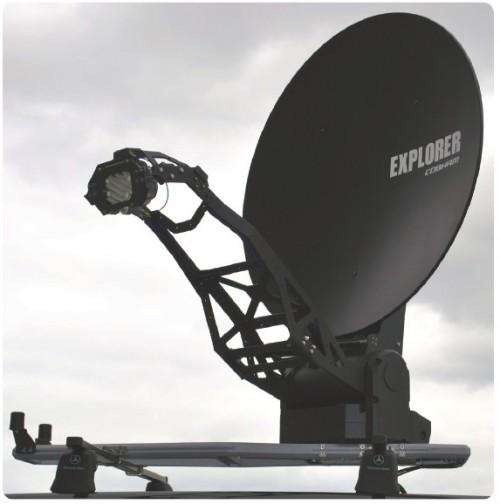 Cobham Explorer 8100 KU Band to KA-SAT Conversion-Kit