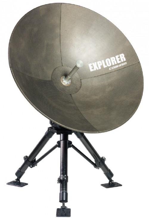 Cobham Explorer 3075 mobile VSAT Antenna