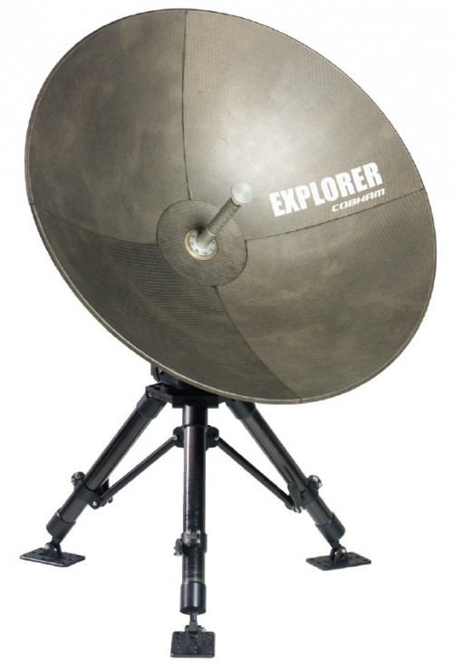 Cobham Explorer 3075 GX-Conversion-Kit mobile VSAT Antenna