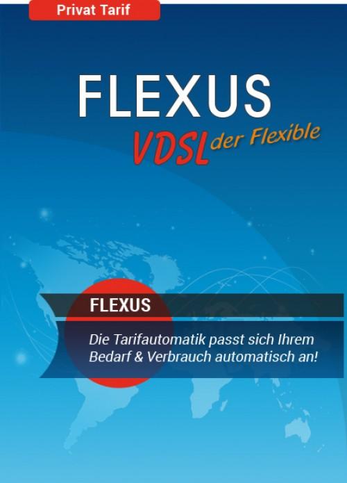 Flexus VDSL Tarif, der Tarif der sich selbst anpasst