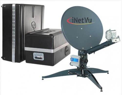 iNetVU FLY-75V Flyaway Antenne