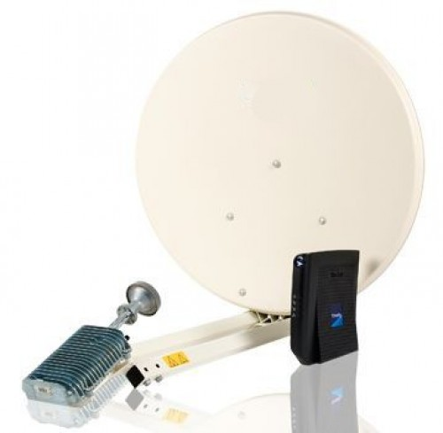 Internet via Satellite 77cn Hardware Kit für Eutelsat KA-SAT 9° Ost