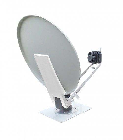 satspeedPRO mobile drive away II Antenne Ansicht hinten