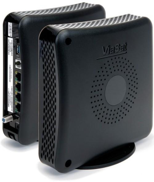 Viasat Surfbeam 2+ KA-SAT Modem inkl. WLAN Router