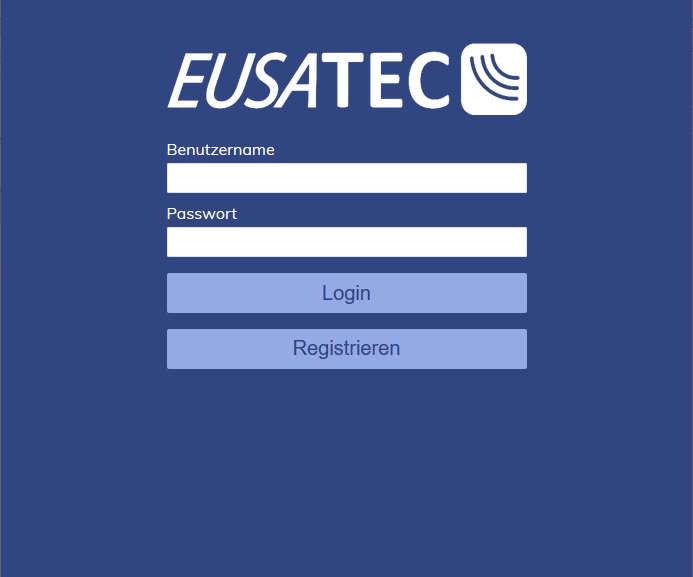 EUSATEC Login