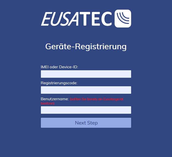 register eusatec device